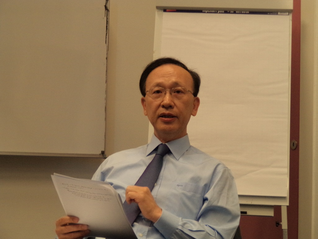 Intaek Hyun, Former Minister of Unification of the Republic of Korea, Korea University Professor