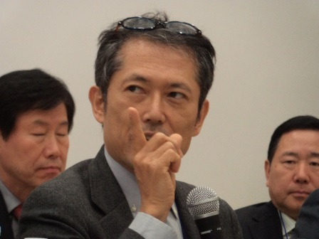 Takaaki MIZUNO, Professor of Kanda University of International Studies