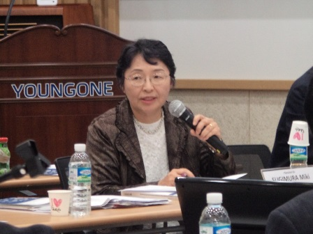 Miki SUGIMURA, Vice President and Professor of Sophia University